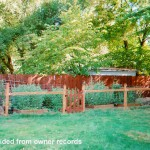 811 NW 30th Street Corvallis Oregon-- Backyard