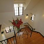 Casa Musica- 3560 NW Tyler Avenue Corvallis Oregon-- Rear Staircase