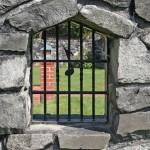 Casa Musica- 3560 NW Tyler Avenue Corvallis Oregon-- Stone Wall Window