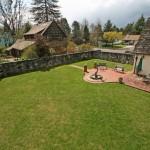 Casa Musica- 3560 NW Tyler Avenue Corvallis Oregon-- Backyard Bird Eye