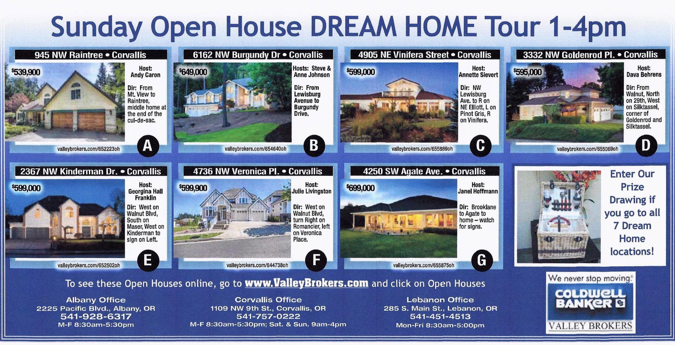 Corvallis Dream Home Tour–Open House