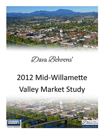 Year End 2012 Market Study for the Mid-Willamette Valley