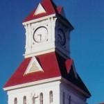 benton county court house clock