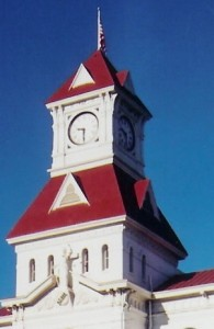 benton county court house clock