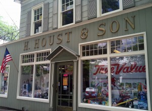 H. Houst and Son, Inc. A hardware store that sells just about everything.