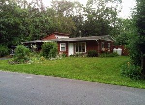 This is the first house we lived in Overlook Drive, Woodstock, NY