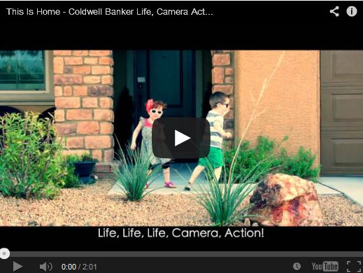 Winner of the Coldwell Banker Life, Camera, Action YouTube contest