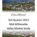 2013 Market Study 3rd Quarter