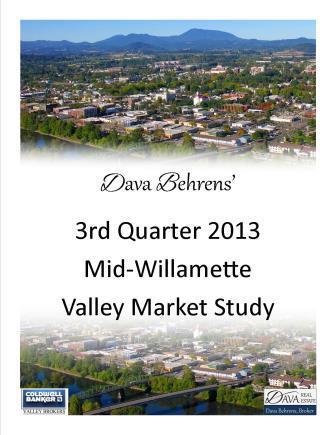 Real Estate Market Statistics | Third Quarter 2013