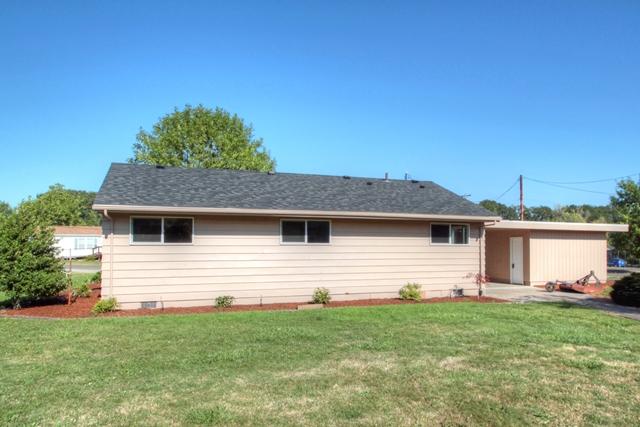 650 N 12th Street Philomath Oregon-- Back of house