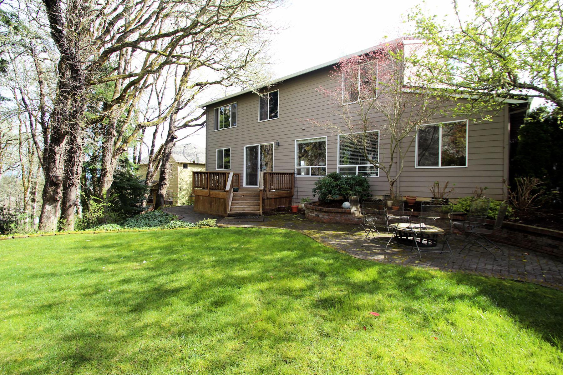 Back of Home 5889 SW Englewood Av, Corvallis, OR 97333