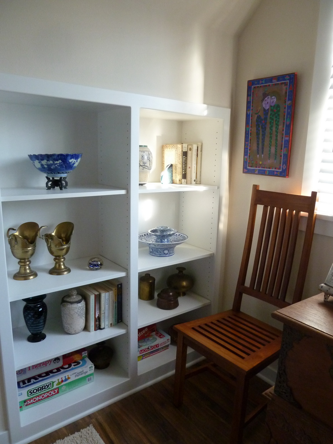 206 NW 8th Street, Corvallis, Oregon-Carriage House Bedroom Shelving