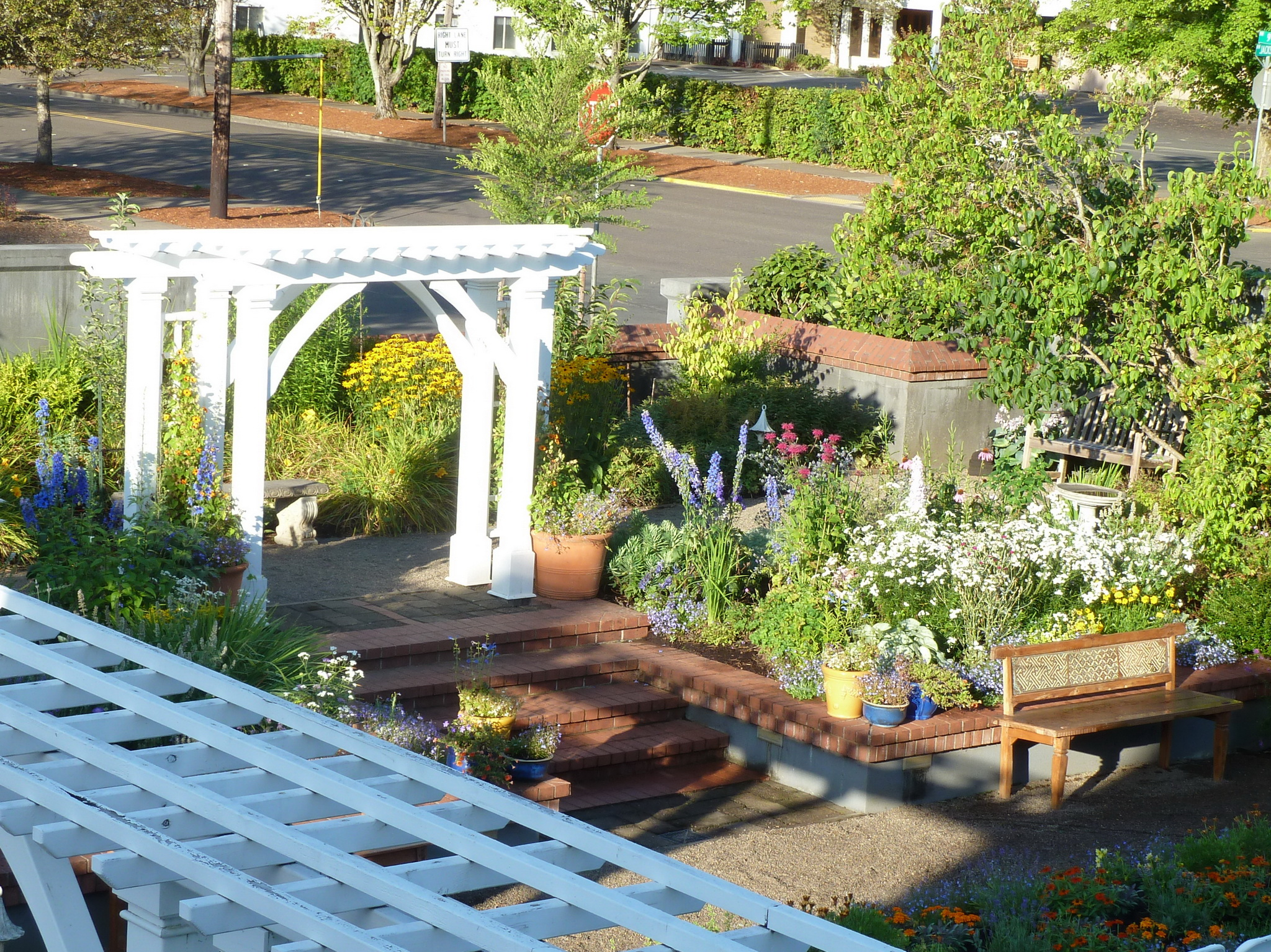 206 NW 8th Street, Corvallis, Oregon-View from Carriage House