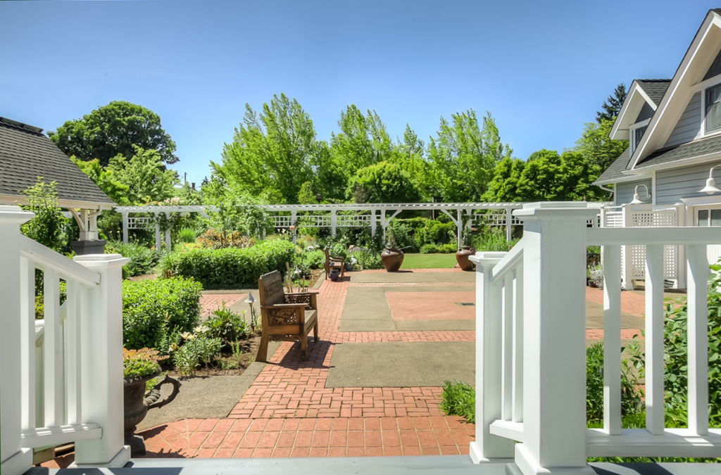 206 NW 8th Street, Corvallis, Oregon-View from Deck
