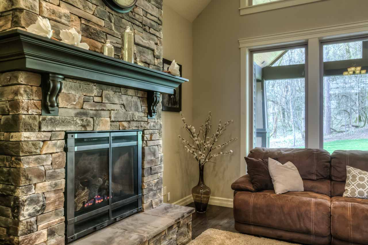 4530 NW Arrowood Circle- Fireplace Detail