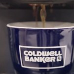 coldwell banker coffee cup