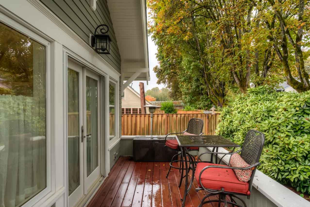 820 SW 11th Street Corvallis-- Deck