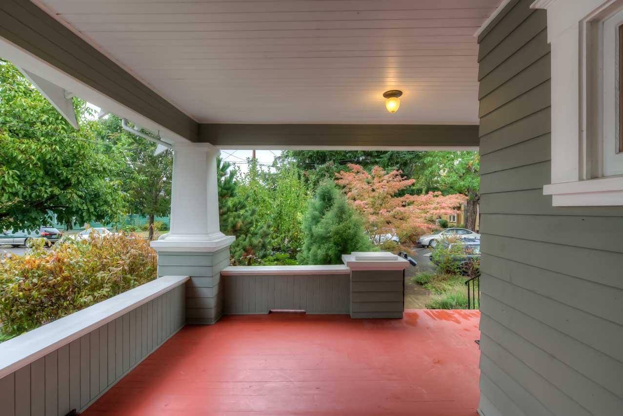 820 SW 11th Street Corvallis-- Porch