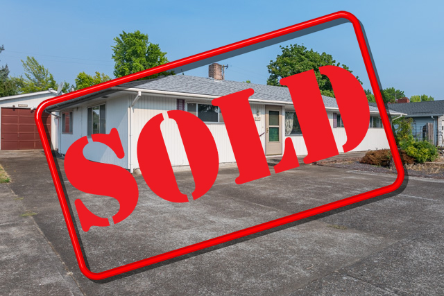 SOLD! 1640 NW Highland Drive, Corvallis Oregon
